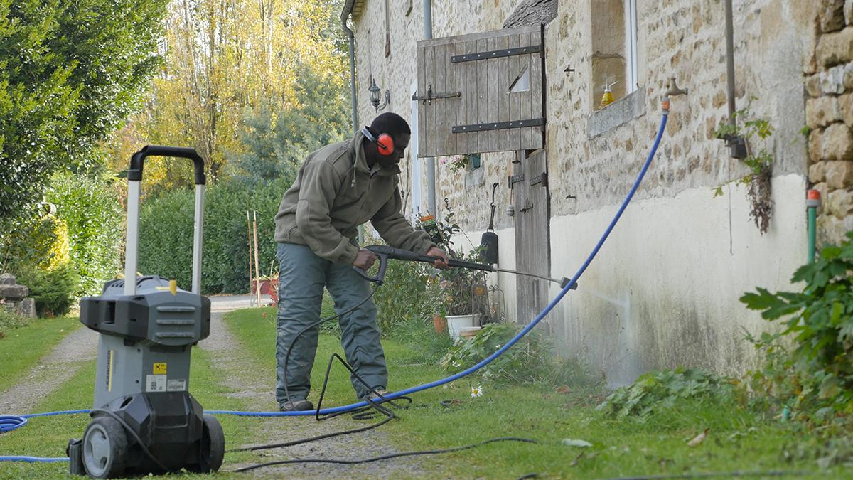Nettoyage de façade au karcher - MSSV
